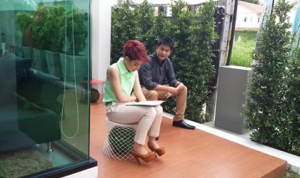 Home Buyers' Review เข้ามาถ่ายทำโครงการ The Primary Ultimate